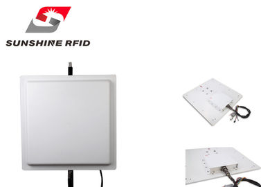 China Portable Programming RFID Reader Long Distance 12 Dbi Antenna For Parking supplier
