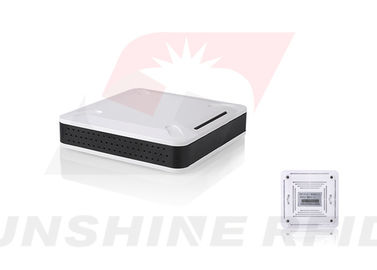 China RFID Application USB UHF Rfid Reader Desktop , RFID Integrated Reader Ethernet Port supplier