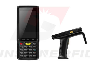 China Handheld RFID Reader Android Industrial , 4G / WIFI / GPS Bluetooth RFID Reader Android supplier
