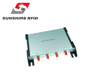China Four Port RFID Reaxcder Industrial , Fixed RFID Reader Long Distance High Efficient supplier