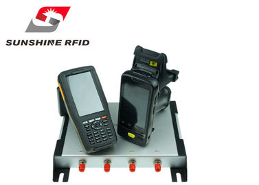 China Professional UHF RFID Reader Handheld With WINCE6.0 System / 5 Meters Read Distance supplier