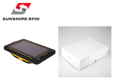 China Bluetooth Ultra High Frequency RFID Reader Android 4.4 OS Operating System supplier