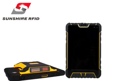 China IP67 Android Tablet RFID Reader , Handheld RFID Reader Android With Fingerprint Reader supplier