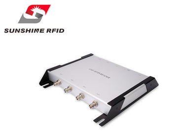 China Professional Four Port RFID Reader Long Range For RFID Race Timing System supplier