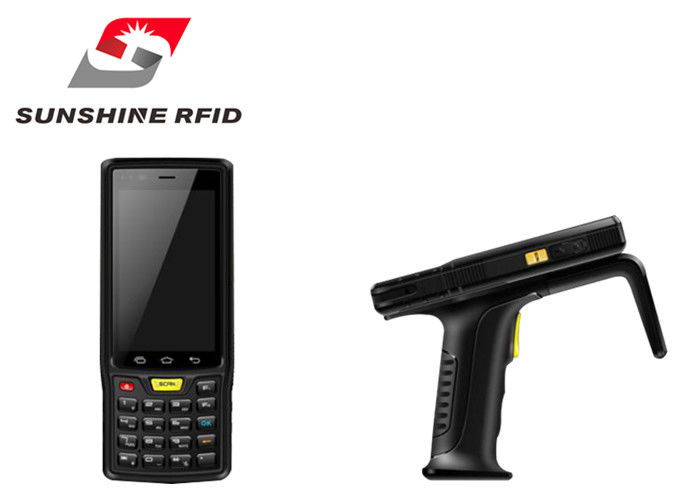 Android System Handheld Rfid Reader Writer , Rfid Portable