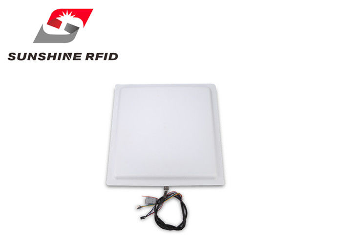 China 12 Dbi Antenna Long Distance RFID Reader , RFID Integrated Reader 840~960 MHz factory