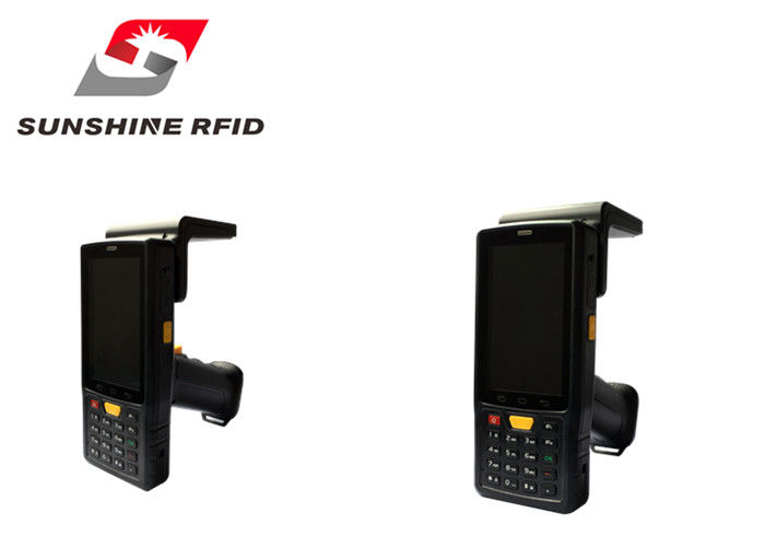 Handheld UHF RFID Reader Android 4.4 System / IP65 Industrial Protection Grade supplier