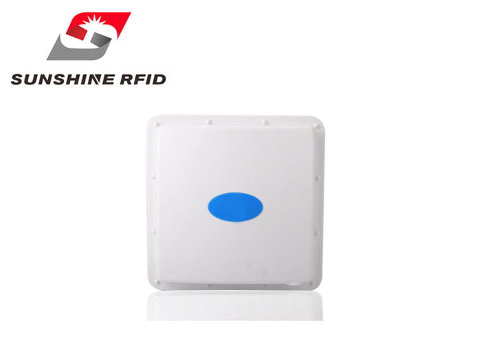 China Directional Rfid Reader Long Distance / 2.45GHz Active RFID Reader For Parking System factory