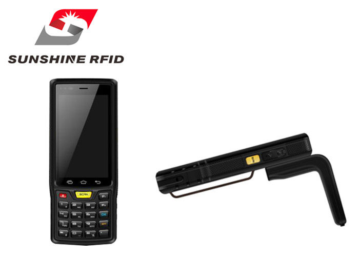 China Industrial Rfid Reader Handheld With Android 4.4 Embedded OS Operating System factory