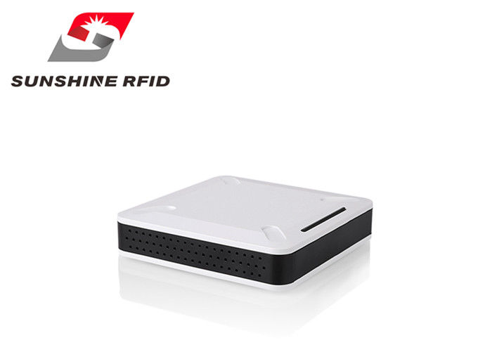 China Impinj R2000 Short Range RFID Reader , RFID USB Reader With ISO 18000-6C Protocol factory