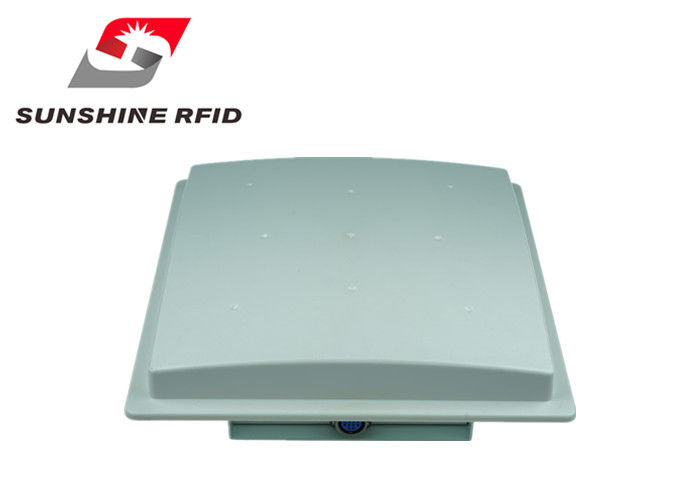 China 9dbi Antenna Industrial RFID Reader Outdoor Ethernet 10 Meters Read Distance For Parking factory