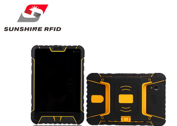 China Fully Rugged RFID Reader Tablet Waterproof RFID Reader Portable 7 Inch LCD Screen factory