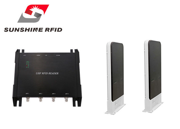 China RS232 RS485 RFID Reader Access Control , UHF Passive RFID Reader 1 Meter Range factory