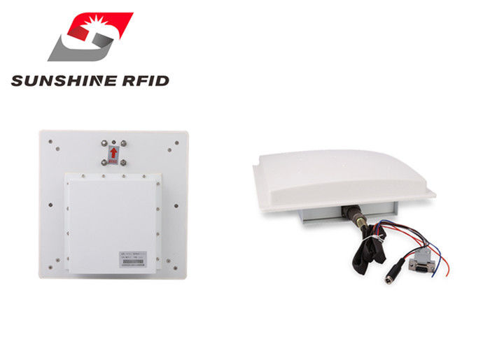 China Professional IP65 Waterproof RFID Reader Long Range Passive With 9 Dbi Antenna factory