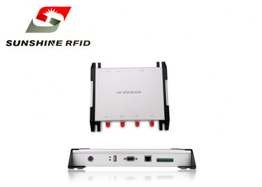 Waterproof 4 Port Passive RFID Reader Access Control For Warehouse Management
