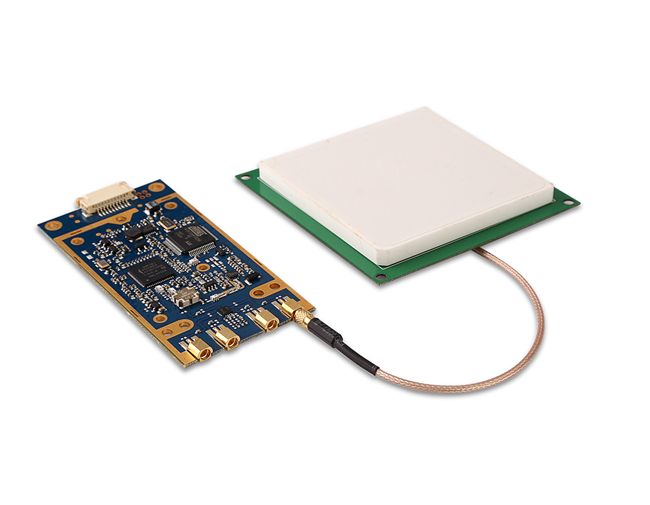 High Precision RFID Application Long Range Rfid Reader Module With IMPINJ R2000 Chip