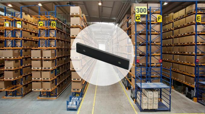 Read And Write Rfid Metal Tag For Warehouse Application , Alien H3 / Impinj M4 Chip