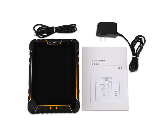 IP67 Waterproof Android Tablet PC Industrial UHF RFID Handheld Reader Support GPS